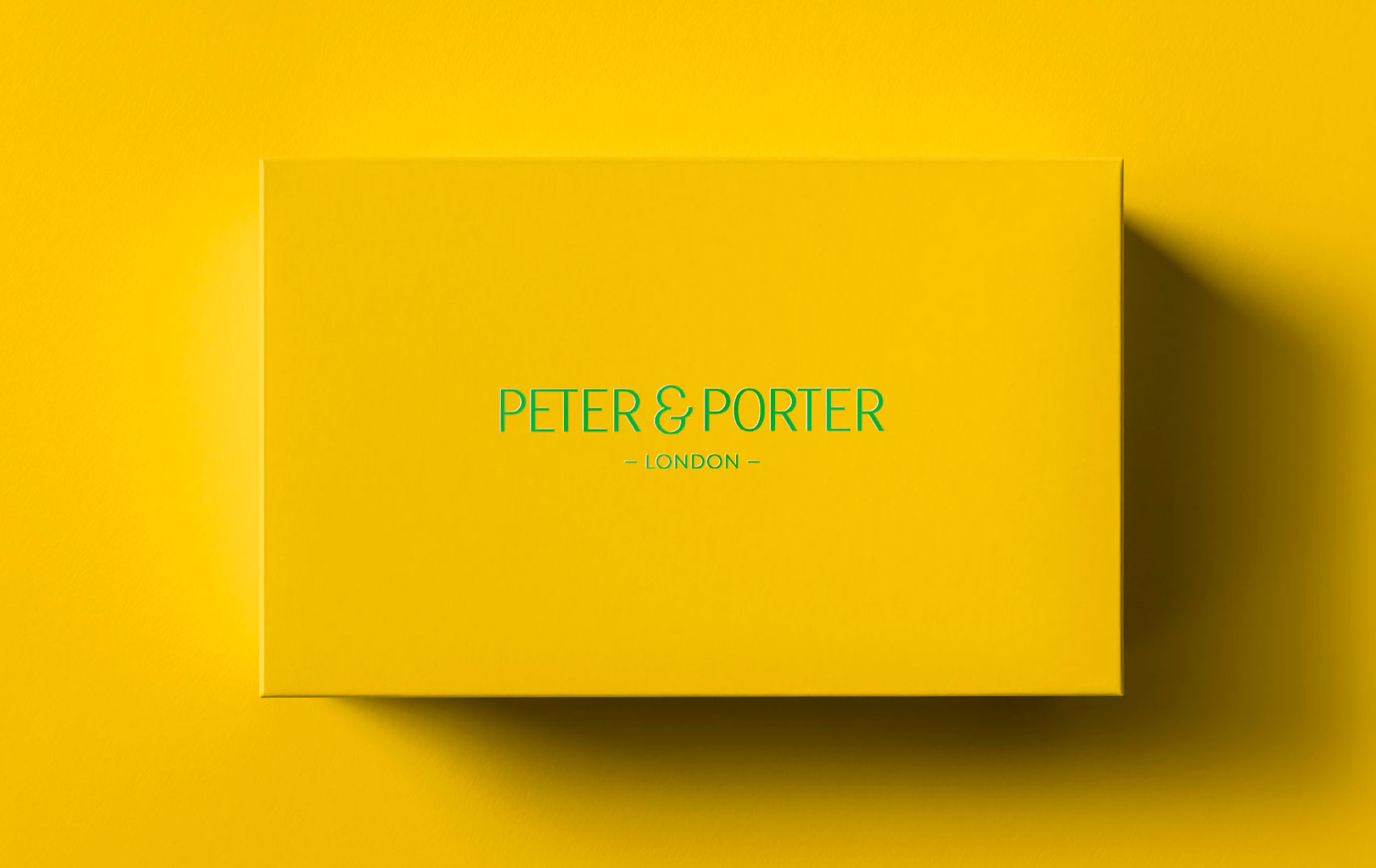 Peter & Porter shoes. London