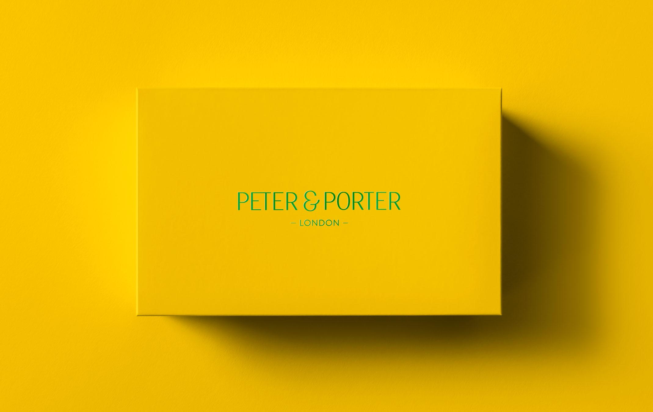 Peter & Porter. London